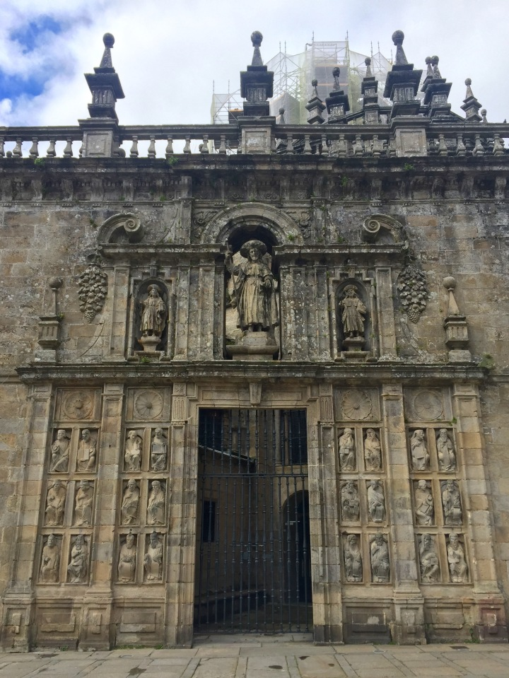The Portal of Glory (Pórtico da Gloria).