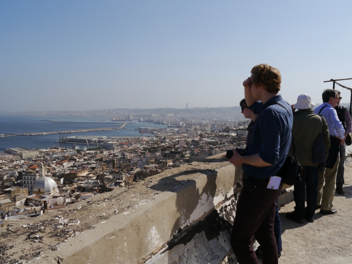 View from the Casbah of Algiers over the city