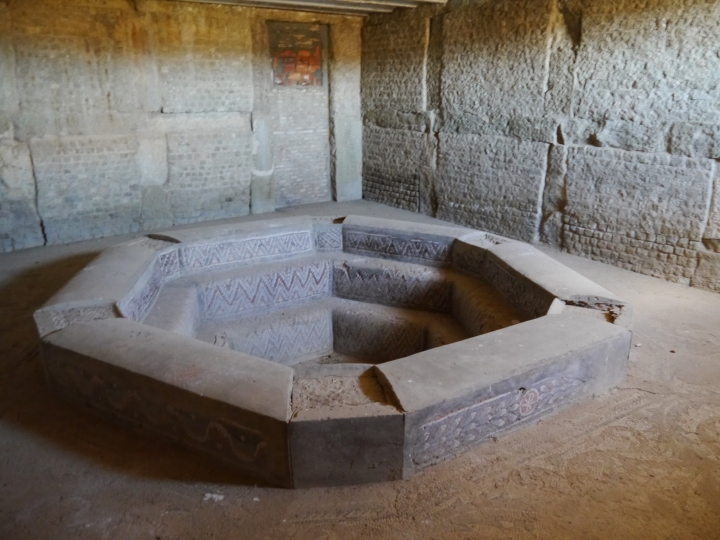 The early 5th century Donatist baptistery of Timgad