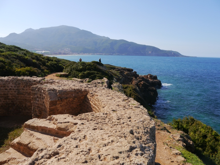 Lunch and ruins at Tipasa