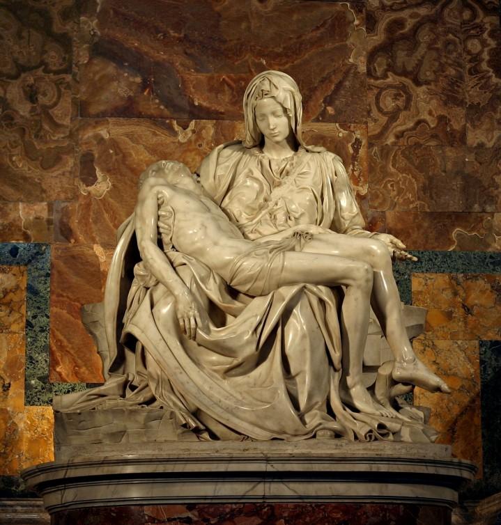 Michelangelo's Pieta, St. Peter's Basilica, Rome